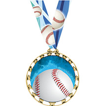 Baseball Medal - Sports Star Series Baseball Medal