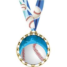 Baseball Medal - Sports Star Series Baseball Medal
