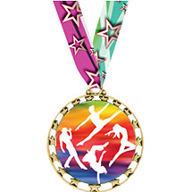 Dance Medal - Sports Star Series Medal