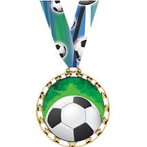 Soccer Medal - Sports Star Series Soccer Medal