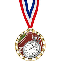 "Track Medals - 2 1/2"" Sports Star Series Medal with 30"" Neck Ribbon"
