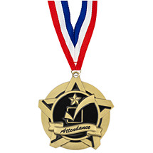 School Medals - Attendance Medal