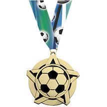 Soccer Medal - Soccer Star Medal