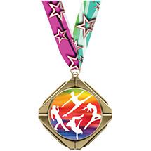 Dance Medal - Dance Diamond Medal