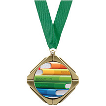 Education Medal - Education Diamond Medal