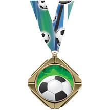 Soccer Medal - Soccer Diamond Medal