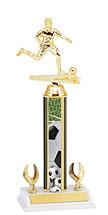 """Soccer Trophy - 12-14"""" 2 Eagle Trophy"""