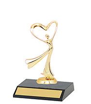 """DINN DEAL! 5 1/2"""" Dance Participation Trophy"""