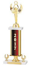 2017 Gold Dated Trophy - 2 Eagle Base - 16-18""