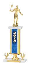 """2018 Gold Dated Trophy - 2 Eagle Base - 16-18"""""""