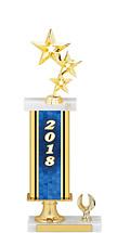 """2018 Gold Dated Trophy - 1 Eagle Base - 15-17"""""""