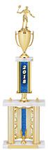 "2018 Backdrop Riser Dated Gold Trophy - 29-31"""