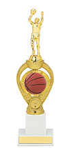 Basketball Trophy - Large Basketball Triumph Riser Trophy