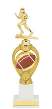 Football Trophy - Large Football Triumph Riser Trophy
