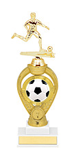 Soccer Trophy - Medium Soccer Triumph Riser Trophy