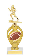 Football Trophy - Small Football Triumph Riser Trophy