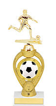 Soccer Trophy - Small Soccer Triumph Riser Trophy