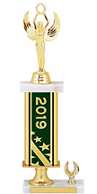 2019 Gold Dated Trophy - 1 Eagle Base - 15-17""