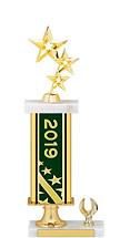 """2019 Gold Dated Trophy - 1 Eagle Base - 15-17"""""""