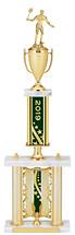 "2019 Backdrop Riser Dated Gold Trophy - 29-31"""