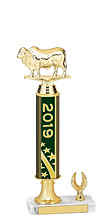 2019 1 Eagle Base Dated Gold Trophy - 13-15""