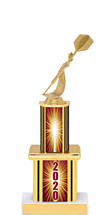 """2020 Trophy with Twin Column - 12"""""""