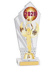 Small 2020 Acrylic Trophy - 10 1/2""