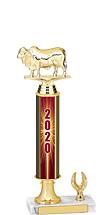"""2020 1 Eagle Base Dated Gold Trophy - 13-15"""""""