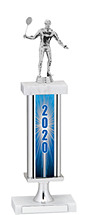 2020 Trophy with Rectangular Column - 14-16""