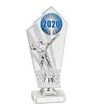 Large 2020 Acrylic Trophy - 11 1/2""