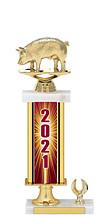 """2021 Gold Dated Trophy - 1 Eagle Base - 15-17"""""""