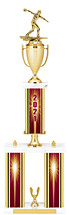 2021 Three Column Dated Gold Trophy - 29-31""