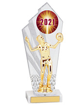 Small 2021 Acrylic Trophy - 10 1/2""