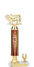 """2021 1 Eagle Base Dated Gold Trophy - 13-15"""""""