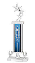 2021 Trophy with 2 Eagle Base - 16-18""