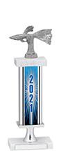 "2021 Trophy with Rectangular Column - 14-16"""