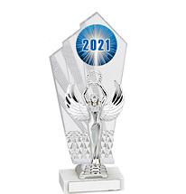 """Large 2021 Acrylic Trophy - 11 1/2"""""""