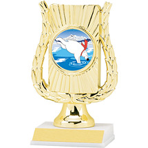 "6 1/2"" Holographic Frame Trophy"