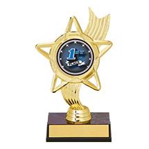 "6 1/4"" Holographic Star Award"
