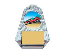 Clear Acrylic Iceberg Emblem Trophy