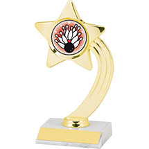 "Dinn Deal! 8"" Holographic Shooting Star Trophy"