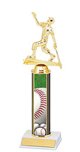 "Baseball Trophy - 10-12"" Trophy"