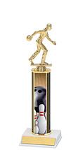 Bowling Trophy - Bowling Figure Trophy