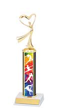 "Dance Trophy - 10-12"" Trophy"