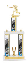 "Hockey Trophy - 18-20"" Three Column Trophy"