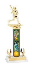 """Lacrosse Trophy - 12-14"""" 2 Eagle Trophy"""