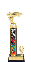 "Pinewood Derby Trophy - 8 1/2 - 10 1/2"" 1 Eagle Trophy"