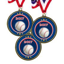 """Baseball Medals - 2 1/2"""" 2016 Super Saver Baseball Medal Package Deal - Set of 15"""