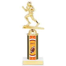 "8"" 2017 Super Saver Football Individual Deal - Male Football Trophy"