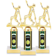 """Softball Trophies - 10"""" 2017 Super Saver Softball Package Deal with Female All Star Softball Figure - Set of 15"""